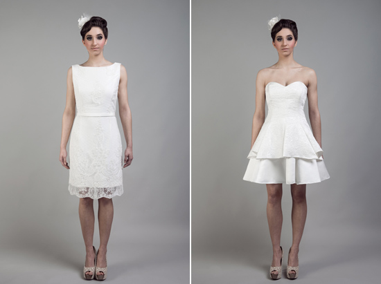 short wedding dresses tobi hannah011 Tobi Hannah Wedding Gowns Adventure Collection