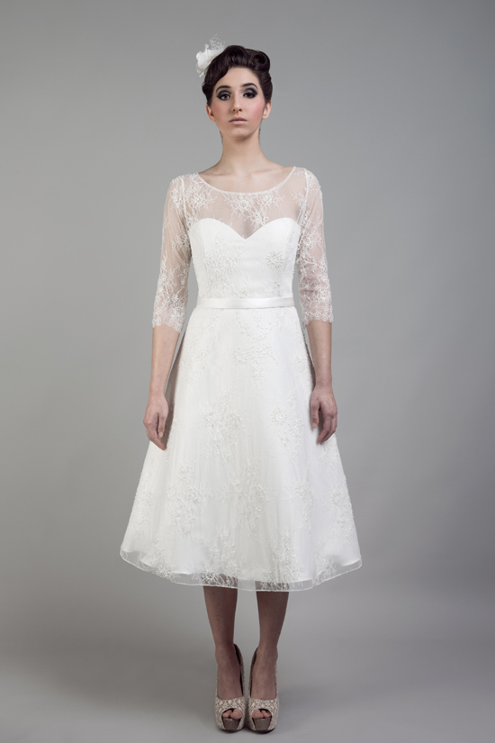short wedding dresses tobi hannah012 Tobi Hannah Wedding Gowns Adventure Collection