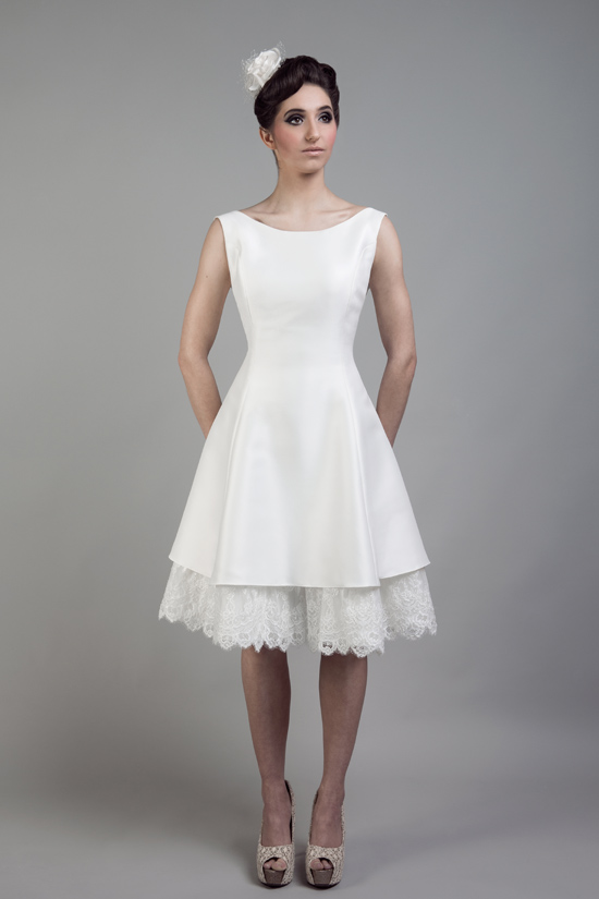short wedding dresses tobi hannah013 Tobi Hannah Wedding Gowns Adventure Collection