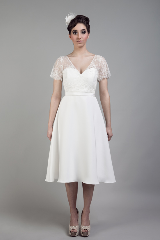 short wedding dresses tobi hannah016 Tobi Hannah Wedding Gowns Adventure Collection