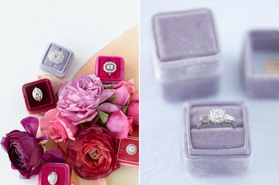 velvet ring box0002 Vintage Velvet Ring Boxes From The Mrs Box