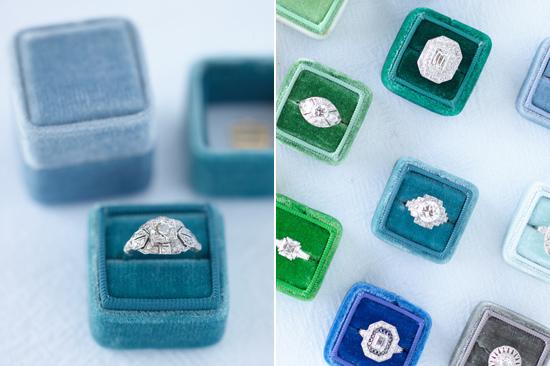 velvet ring box0003 Vintage Velvet Ring Boxes From The Mrs Box