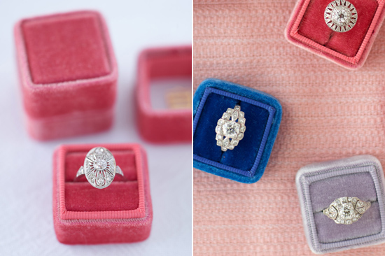 velvet ring box0006 Vintage Velvet Ring Boxes From The Mrs Box