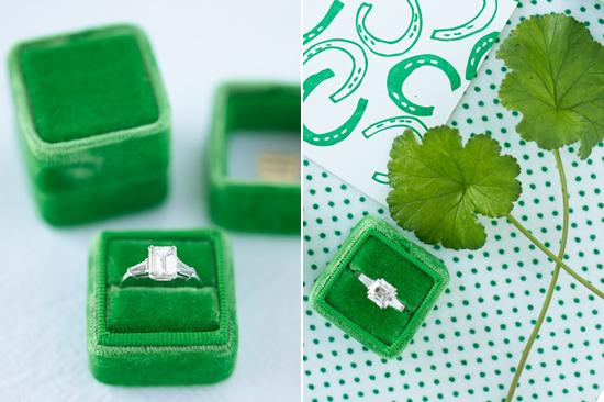 velvet ring box0011 Vintage Velvet Ring Boxes From The Mrs Box