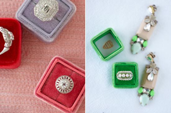 velvet ring box0016 Vintage Velvet Ring Boxes From The Mrs Box