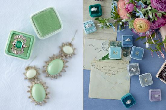 velvet ring box0017 Vintage Velvet Ring Boxes From The Mrs Box
