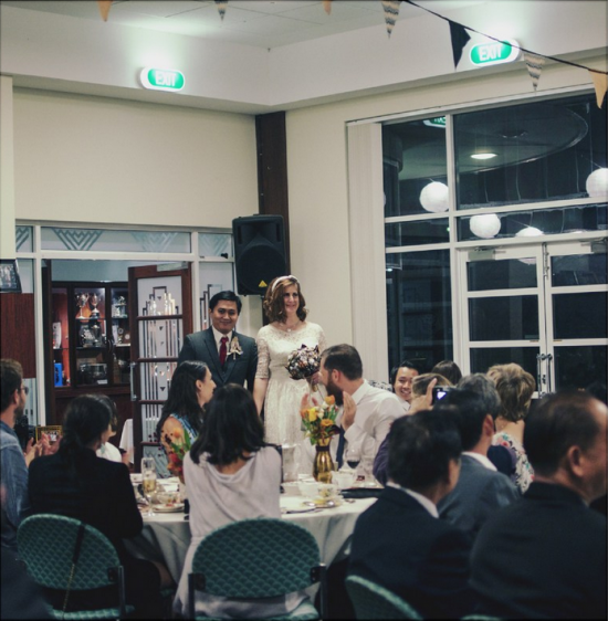 231 550x562 1950s Vintage Wedding In Perth