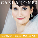 Carla Jones Hair & Makeup Bride banner