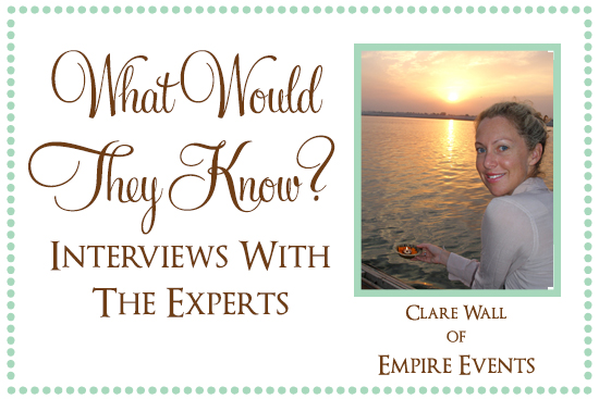 Clare Wall Empire Events What Would They Know? Clare Wall of Empire Events