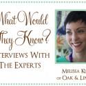 Melissa of Oak Linden1 125x125 Friday Roundup