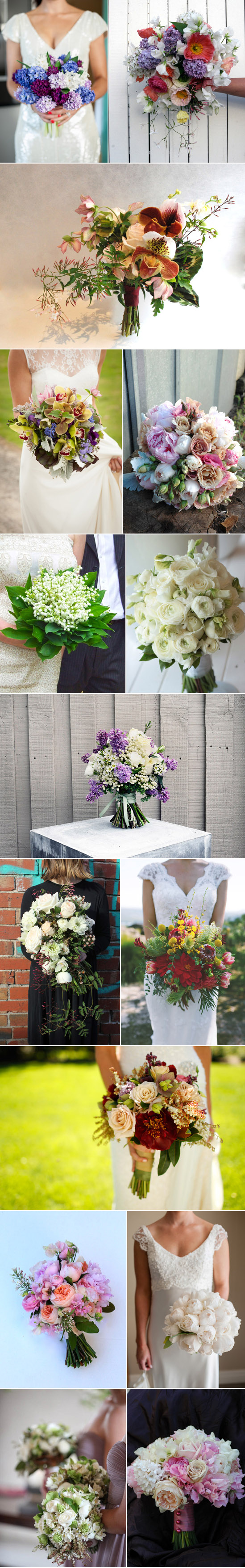 Spring Bridal Bouquets Spring Wedding Bouquets