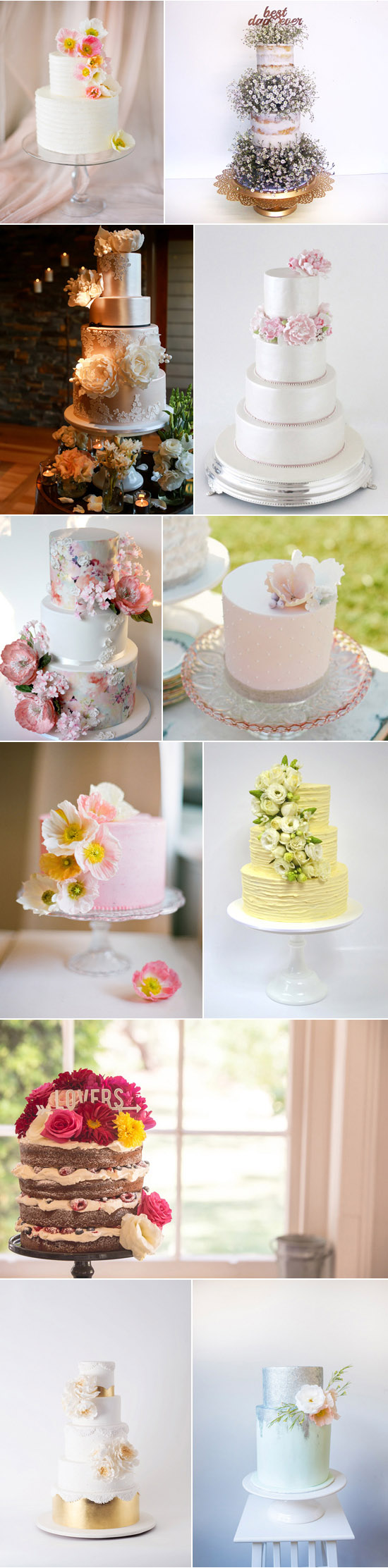 Spring Cakes For Weddings
