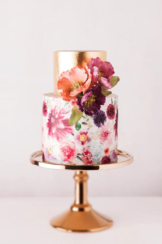Spring Wedding Cake Cake Ink
