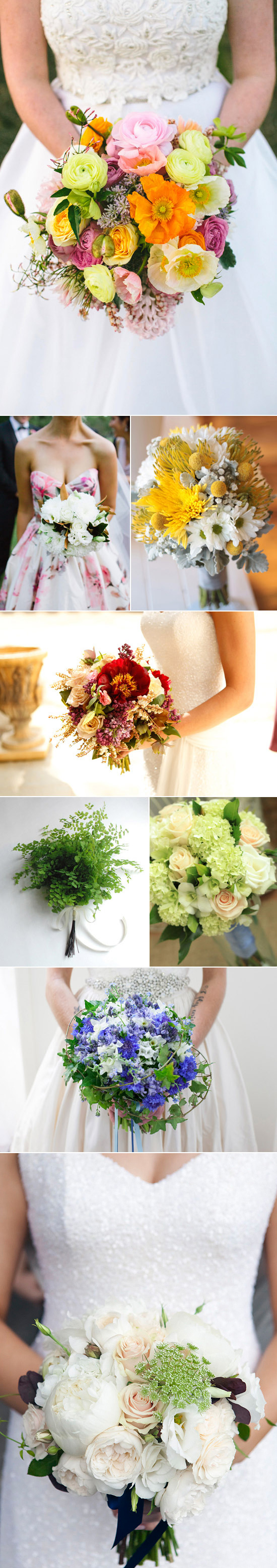 Spring wedding bouquets 1 Spring Wedding Bouquets