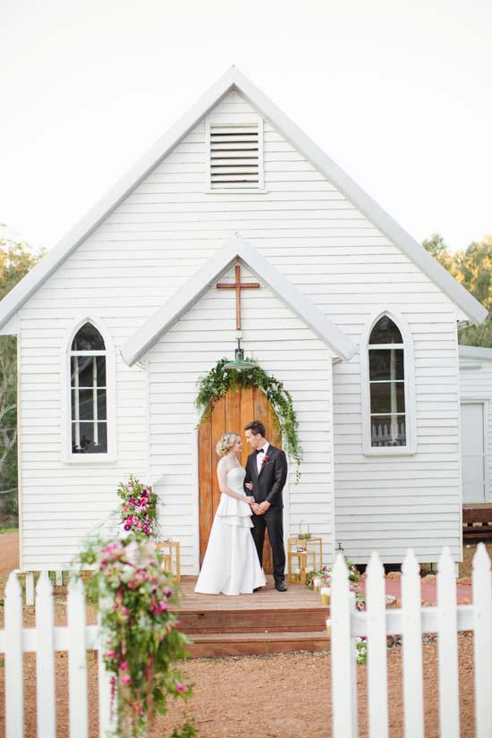 australian country church wedding0092 Australian Country Church Wedding Inspiration
