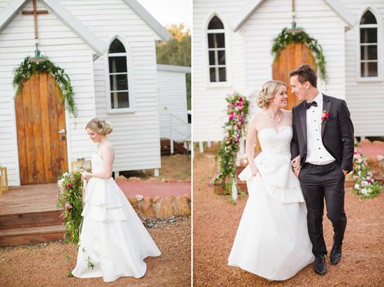 australian country church wedding0119 Australian Country Church Wedding Inspiration
