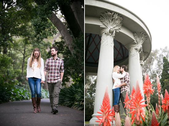 botanic gardens engagement0021 Nicola and Bretts Romantic Garden Engagement Photos