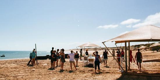 eco beach wedding0024 Kara and Barts Eco Beach Wedding
