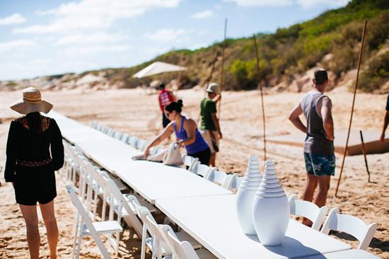 eco beach wedding0025 Kara and Barts Eco Beach Wedding