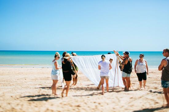 eco beach wedding0026 Kara and Barts Eco Beach Wedding