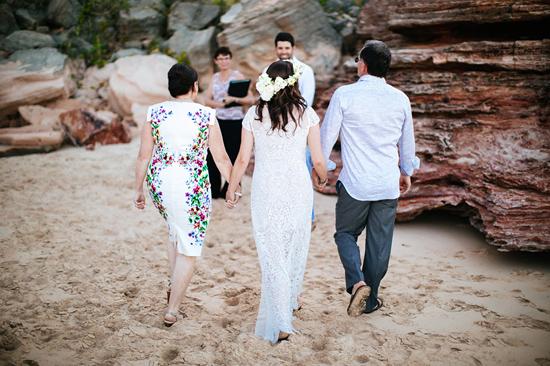 eco beach wedding0071 Kara and Barts Eco Beach Wedding