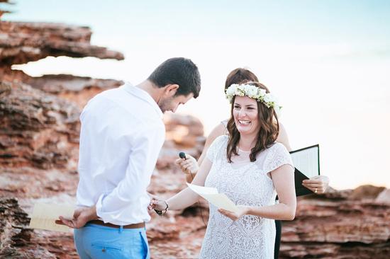 eco beach wedding0076 Kara and Barts Eco Beach Wedding