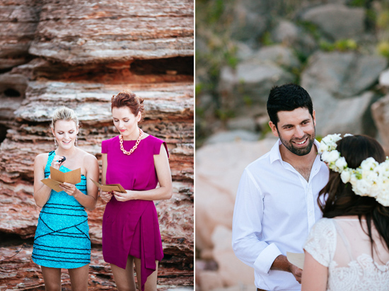 eco beach wedding0078 Kara and Barts Eco Beach Wedding
