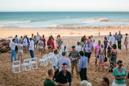 eco beach wedding0084 Kara and Barts Eco Beach Wedding