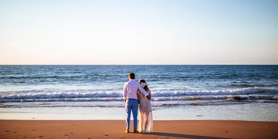 eco beach wedding0085 Kara and Barts Eco Beach Wedding