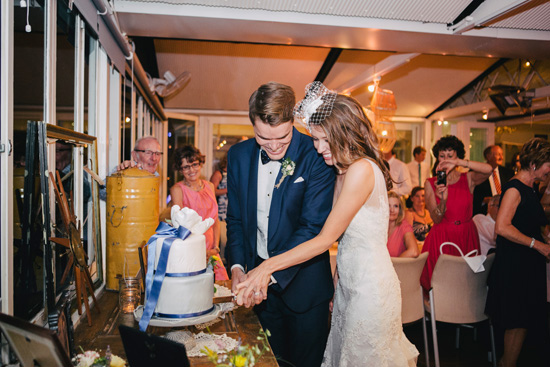 fun vintage wedding0074 Hayley & Marks Fun Vintage Wedding By The Water