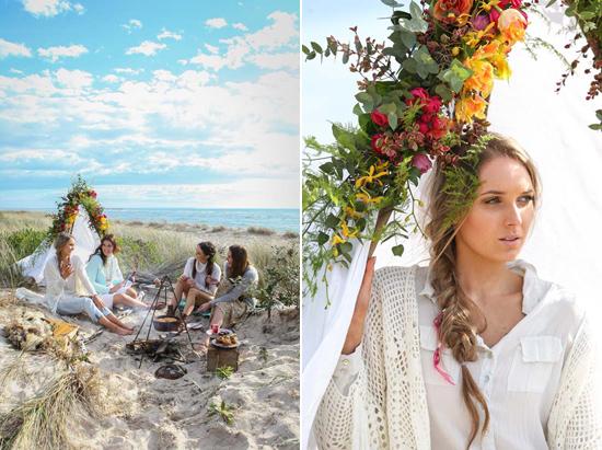 gypsy bride inspiration0108 A Girls Weekend For The Gypsy Bride