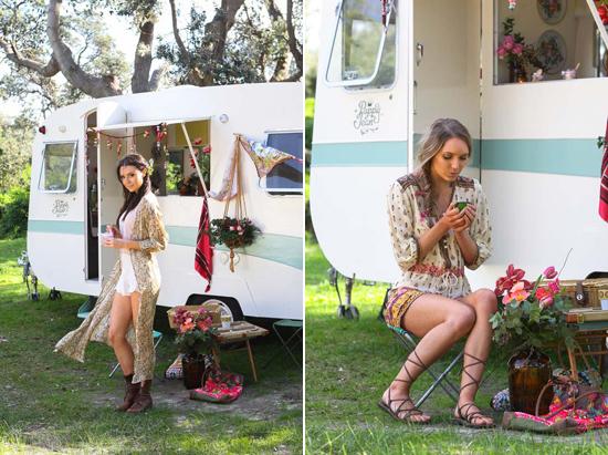 gypsy bride inspiration0110 A Girls Weekend For The Gypsy Bride