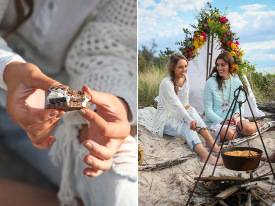 gypsy bride inspiration0111 A Girls Weekend For The Gypsy Bride
