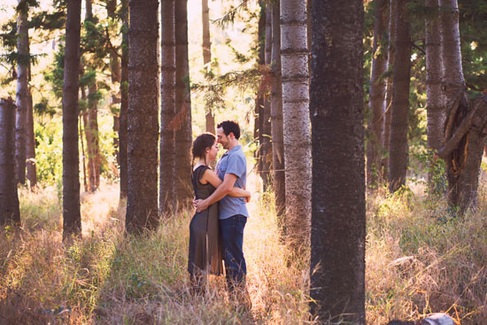 secret forest sunset engagement0003 Marie and Jans Secret Forest Sunset Engagement Photos