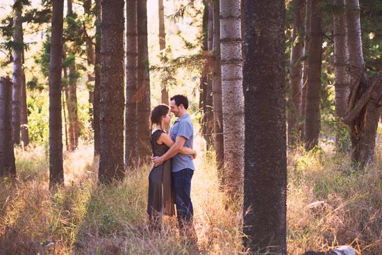 secret forest sunset engagement0003 Marie and Jans Secret Forest Sunset Engagement Photos
