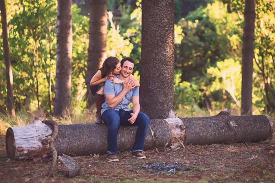 secret forest sunset engagement0010 Marie and Jans Secret Forest Sunset Engagement Photos