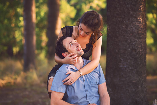 secret forest sunset engagement0011 Marie and Jans Secret Forest Sunset Engagement Photos