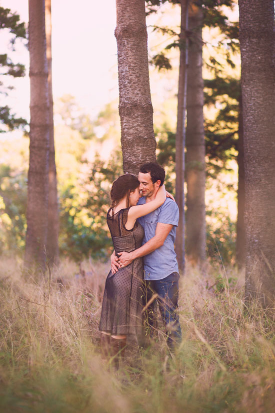 secret forest sunset engagement0014 Marie and Jans Secret Forest Sunset Engagement Photos