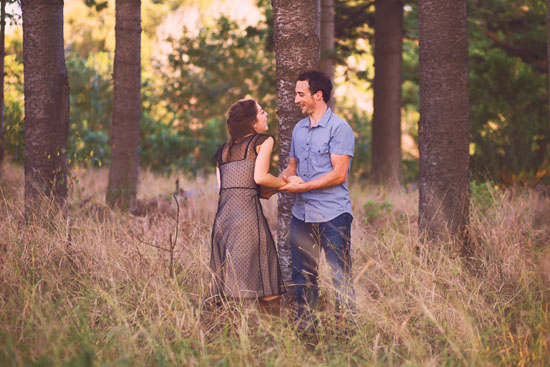 secret forest sunset engagement0016 Marie and Jans Secret Forest Sunset Engagement Photos