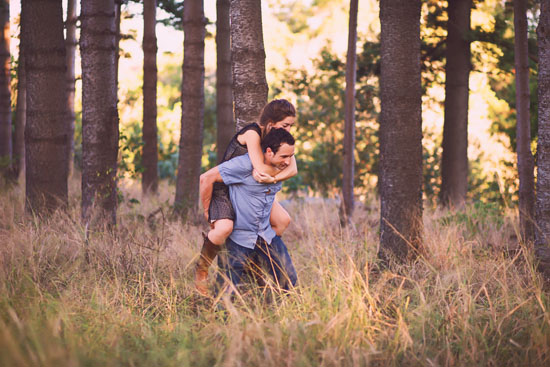 secret forest sunset engagement0019 Marie and Jans Secret Forest Sunset Engagement Photos