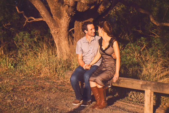secret forest sunset engagement0032 Marie and Jans Secret Forest Sunset Engagement Photos