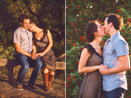 secret forest sunset engagement0033 Marie and Jans Secret Forest Sunset Engagement Photos