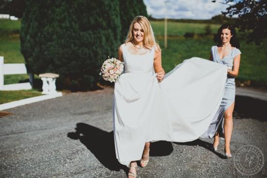 0156 550x366 Irish Wedding