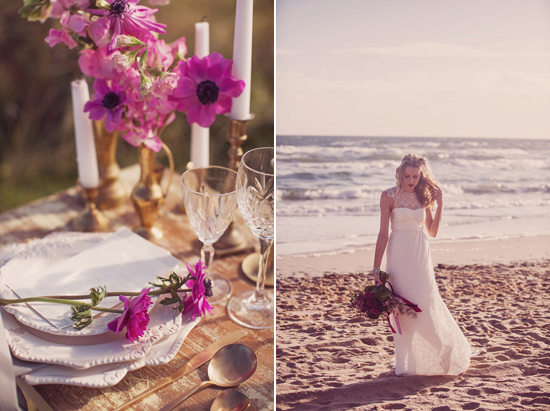Luxe Beach Wedding Inspiration0009 Luxe Vintage Beach Wedding Inspiration