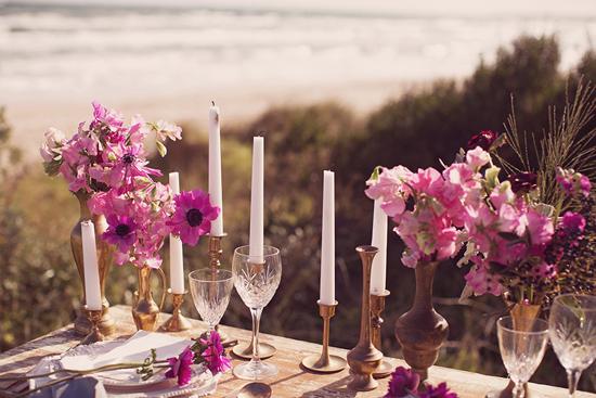 Luxe Beach Wedding Inspiration0011 Luxe Vintage Beach Wedding Inspiration