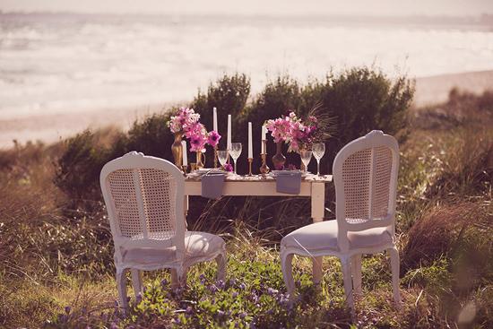 Luxe Beach Wedding Inspiration0012 Luxe Vintage Beach Wedding Inspiration