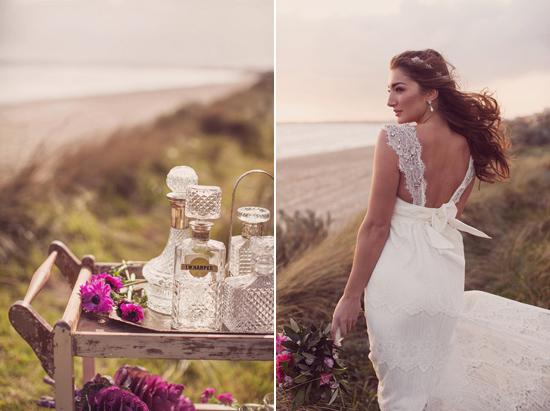 Luxe Beach Wedding Inspiration0017 Luxe Vintage Beach Wedding Inspiration