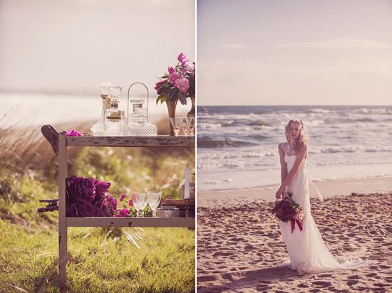 Luxe Beach Wedding Inspiration0018 Luxe Vintage Beach Wedding Inspiration