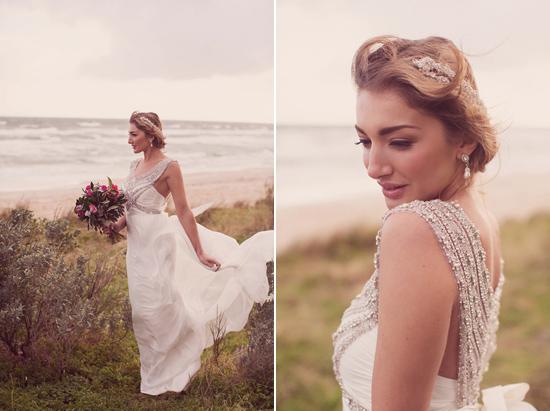 Luxe Beach Wedding Inspiration0030 Luxe Vintage Beach Wedding Inspiration