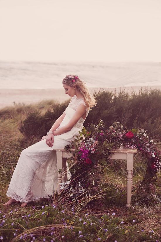 Luxe Beach Wedding Inspiration0034 Luxe Vintage Beach Wedding Inspiration